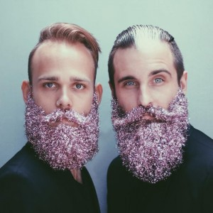 beard glitter