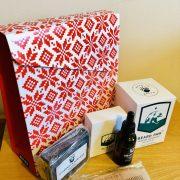 beard oil gift box