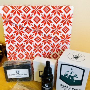 beard oil gift box